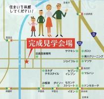◎小松市長田町の家 地図