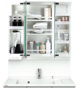 デザイン性と機能性を備えた洗面ドレッシング06