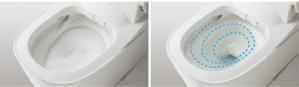 お掃除もしやすい自動洗浄トイレ02