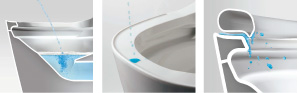 お掃除もしやすい自動洗浄トイレ03