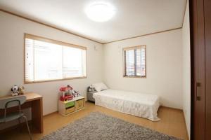 2部屋ある子供室は7.2帖とゆったりサイズです。